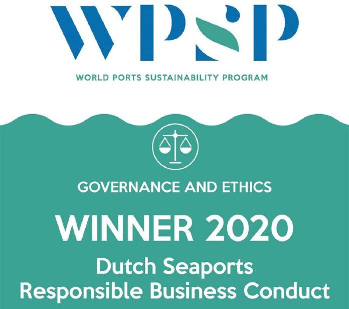 Dutch Seaports Win World Ports Sustainability Award