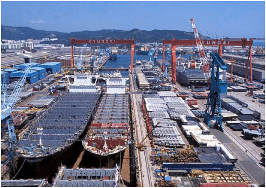 Top 10 Shipbuilding Companies in the world-hyundai heavy industries-korea-dailylogistic.com