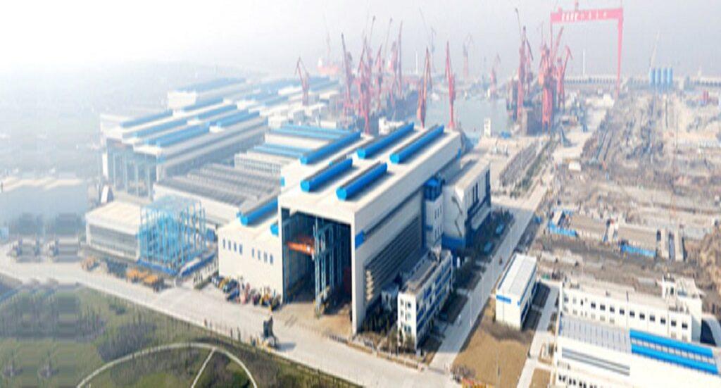 Top 10 Shipbuilding Companies in the world-jiangsu yangzijiang shipbulding-china-dailylogistic.com