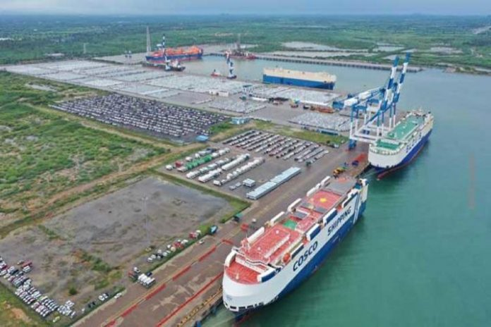 Government regrets losing full control of Hambantota Port