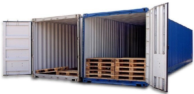 Pallet wide container daily logistics