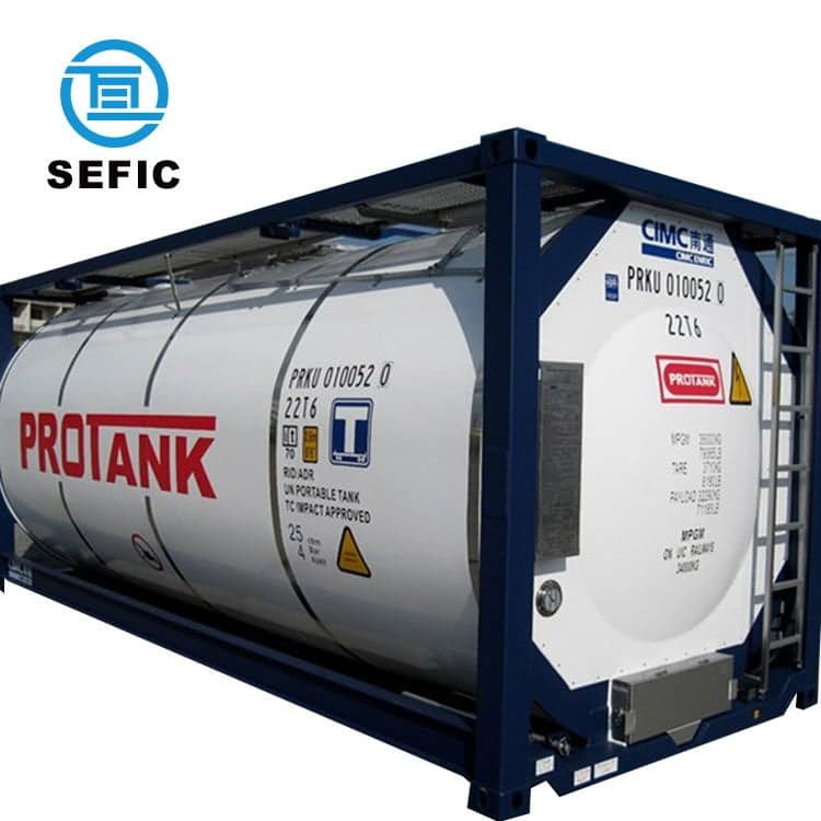 Tank container - Shipping container Daily Logistics