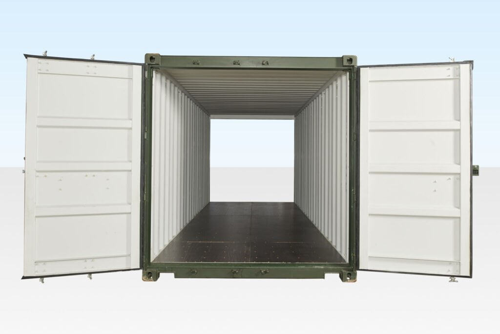 double door shipping container -container type daily logistics