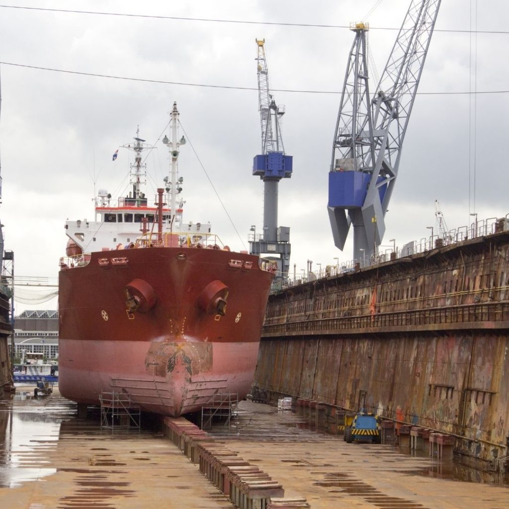 Marine Services_Ship repairs_Daily Logistics_Maritime Services